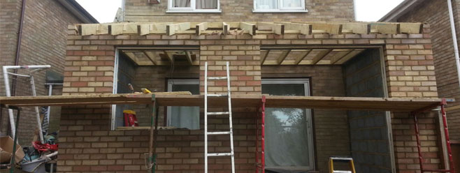 Rear house extension in Tunbridge Wells